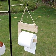 DSFSAEG Soporte de papel higiénico de camping de