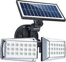 DTKJ Luces Solares para Cerca, JardíN Solar Led,