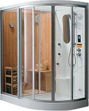 Ducha rinconera HAUMEA - Hidromasaje, sauna, baño