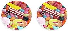 Dulces dulces coloridos y variados Imanes para