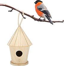 Duokon Casa de pájaros de Madera, pajarera sin