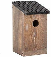 Duokon Casita para pájaros, casa de Madera para