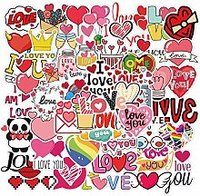 DUOYOU Calcomanías para el día de San Valentín,