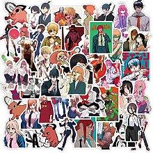 DUOYOU Pegatinas de anime para ordenador