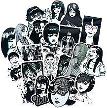 DUOYOU Terror Comics Pegatinas japonesas Segunda