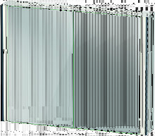 Duravit XViu XV7143 Armario con espejos, 1020x156