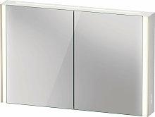 Duravit XViu XV7144 Armario con espejo, 1220x156
