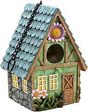Dysetcs Casas de pájaros para exteriores, casa de