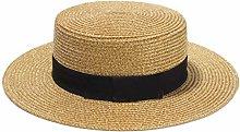 DYXYH Señoras Sun Sombreros Sombrero de Paja