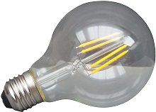 E27 LED Bombilla transparente