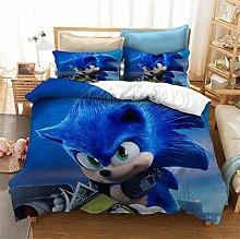 EA-SDN Sonic - Funda de edredón, sábana bajera,