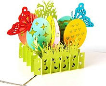 Easter Cards, 3D Pop Up Easter Card Tarjeta de