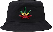 EBZP Sombrero de Cubo de Hoja de Arce Sombrero