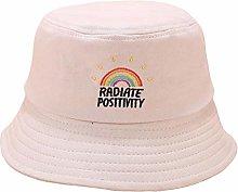 EBZP Sombrero de Lona para el Sol para Mujer, con