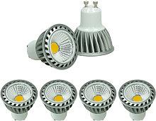 ECD Germany 4 x LED COB GU10 Spot - Equivale 4W