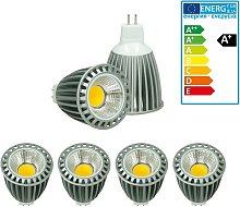ECD Germany 4x LED Spot 9W COB MR16 - Equivale 60W