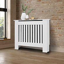Ecd Germany - Cubierta del radiador 78x19x82 cm