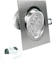 ECD Germany LED Foco LED empotrado 5W 230V -
