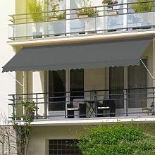 Ecd Germany - ML-Design Toldo retráctil manual