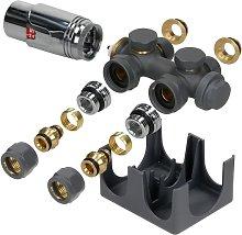 Ecd Germany - Set válvula del radiador de