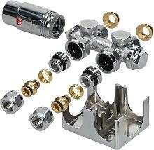 Ecd Germany - Set válvula del radiador del