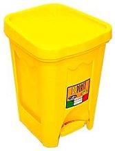 Eco contenedor cubo de basura 6 l de plástico con