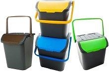 Ecoplast - Cubo de basura selectiva 35 litros pack