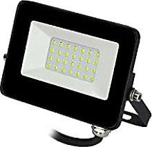 EDM 70318 Foco Proyector Led 20W, Luz Verde