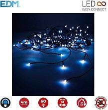 Edm - Guirnalda Luminosa Easy-Connect 4M 60 Leds