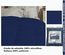 Edredon Azul Oscuro Cama 105Cm