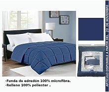 Edredon Azul Oscuro Cama 135Cm