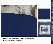 Edredon Azul Oscuro Cama 90Cm
