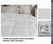 Edredon Blanco Cama 105Cm