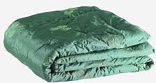Edredón floral verde 240x260 cm Rogal