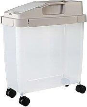 Eervff Cubo De Arroz De Plástico 20 Kg Caja De