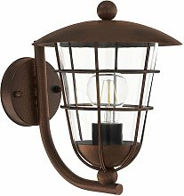 Eglo - Lámpara de pared para exterior VINTAGE