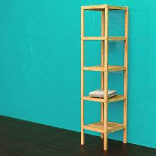 EISL Estantería de baño 4 estantes 34x33x140 cm