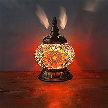 El más nuevo mosaico turco lámpara de mesa