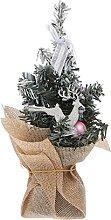 ELAULA Árbol de Navidad artificial de escritorio