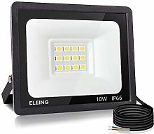 ELEING Proyector LED Exterior 10W 800LM 6500K