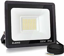 ELEING Proyector LED Exterior 300W 24000LM 6500K