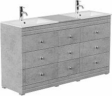 Emotion - Mueble de baño con patas Cosmo clásico