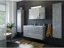 Emotion - Set de baño Helios 4U incl. armario con