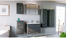 Emotion - Set de mueble de baño OPTIMO 80cm (6