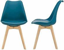 [en.casa] Juego de sillas de Comedor 81 x 49 x 57