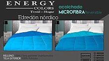 Energy Colors Textil - Hogar Relleno, Edredón