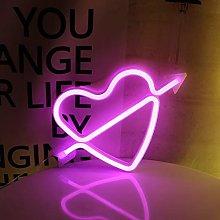 ENUOLI rosa neón del LED de luz LED Arco de