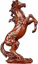 erddcbb Estatua de Caballo de decoración del