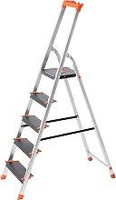 Escalera de 5 Peldaños, Escalera de Aluminio con
