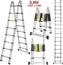 Escalera de aluminio multiusos Plegable
